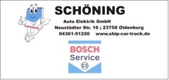 Schöning Autotechnik Bosch Service